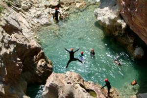 descente canyon sierra de guara espagne