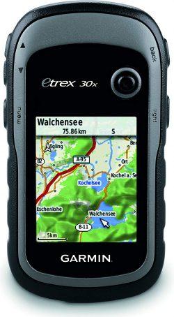 GPS de randonnée avec cartographie