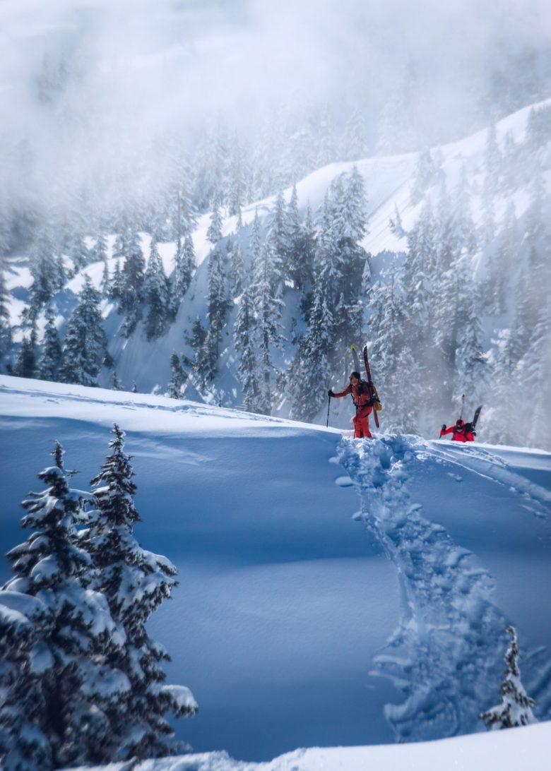 randonneurs à ski
