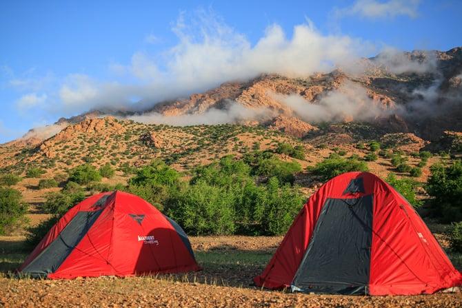 Maroc-campement-djebel-lekst