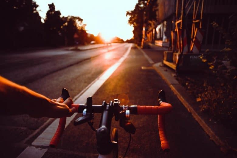 guidon de vélo de route