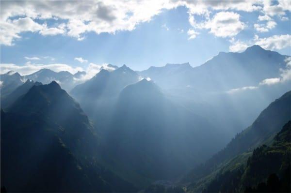 Verber-saint-Bernard montagne