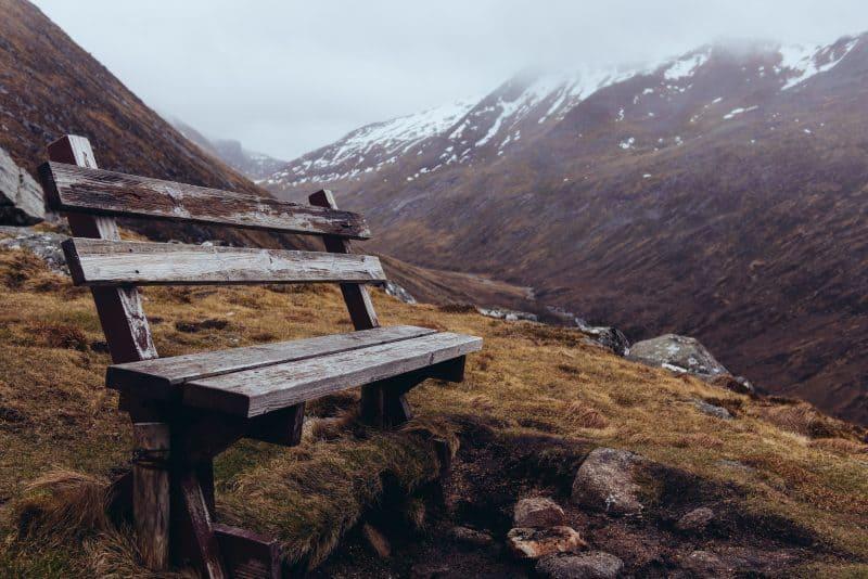 banc durant ascension du ben nevis