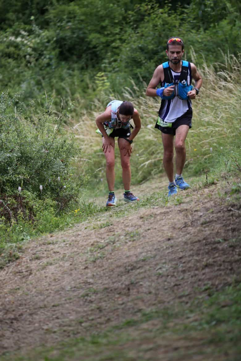 competition de trail running
