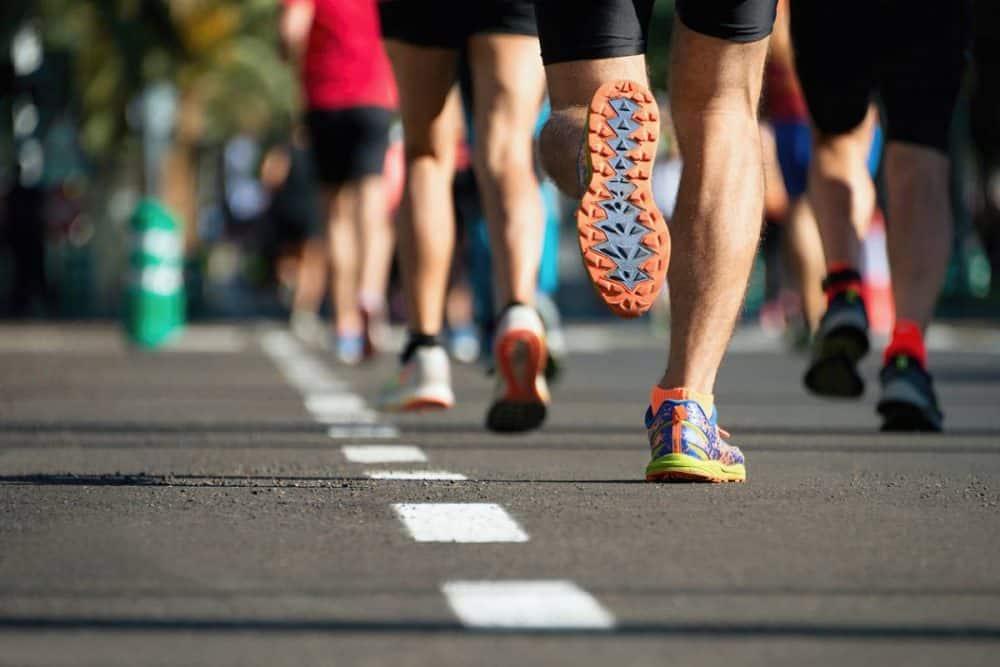 course à pied outdoor