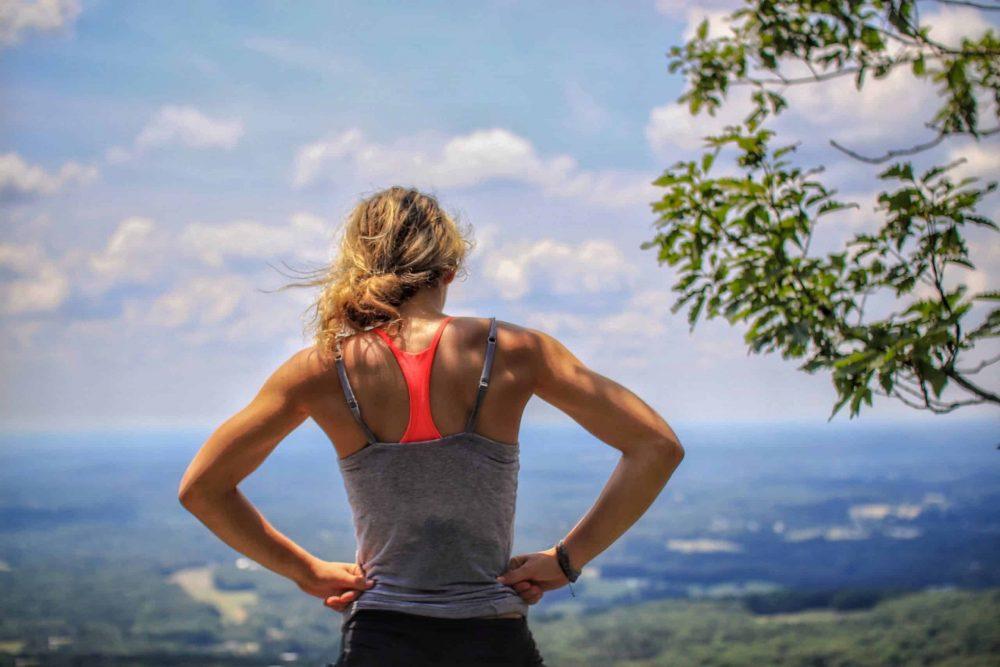 débutante en trail running