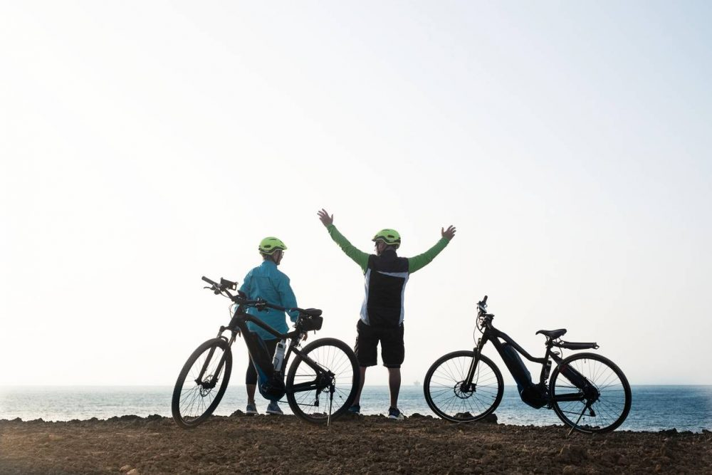 vélo à assistance électrique randonnée