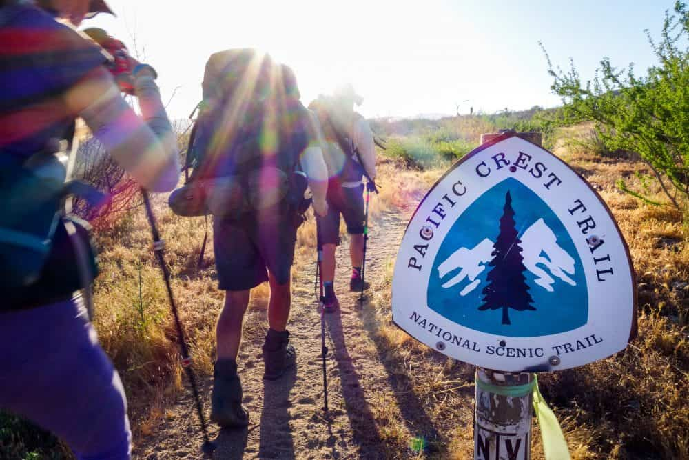 pacific crest trail usa