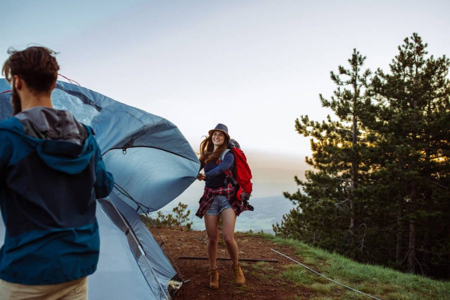 ranger tente de camping