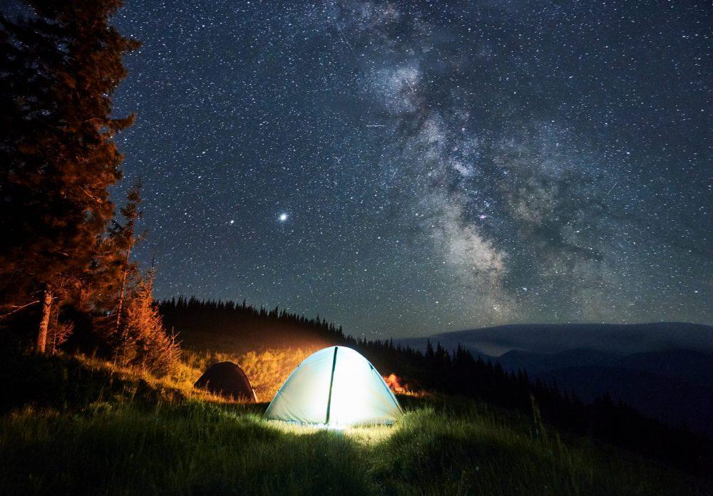 camping dormir à la belle étoile