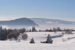 tation jura, ski les Gentianes